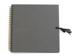 Big scrapbooking album - black cardboard