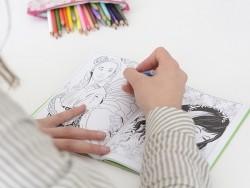 Carnet de coloriage - Fées
