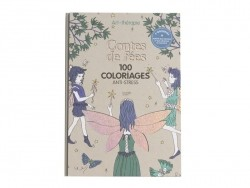 Malbuch - Contes de fées (auf Französisch)