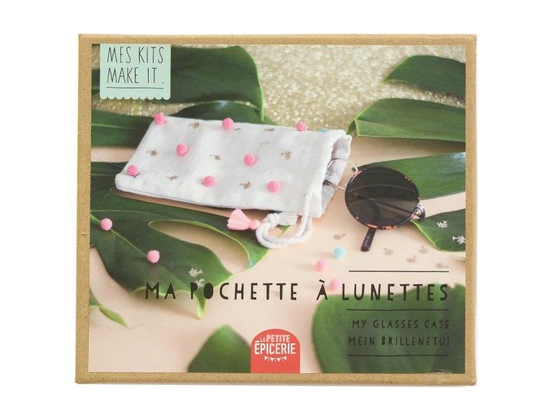 Acheter Kit MKMI - Ma pochette à lunettes - DIY - 16,99€ en ligne sur La Petite Epicerie - 100% Loisirs créatifs