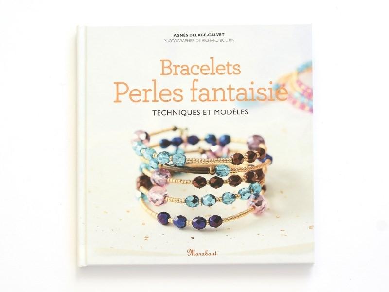 """Livre """"Bracelets perles fantaisie"""""""" Marabout - 1"""
