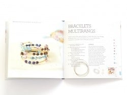 """Livre """"Bracelets perles fantaisie"""""""" Marabout - 2"""