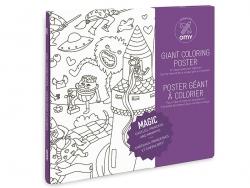Acheter Poster géant en papier à colorier - MAGIC - 9,90€ en ligne sur La Petite Epicerie - Loisirs créatifs