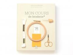 """Livre """"Mon cours de broderie"""""""