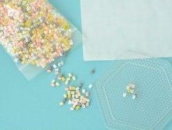 Pegboard for fuse beads