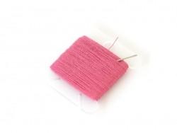 Fuchsia red sewing yarn (30 m) + a needle