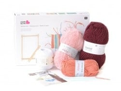 Weaving kit - warm colours