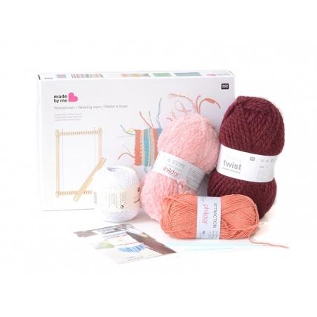 Kit tissage - couleurs chaudes  - 1