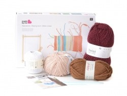 Kit tissage - couleurs chaudes  - 3
