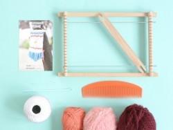 Kit tissage - couleurs chaudes