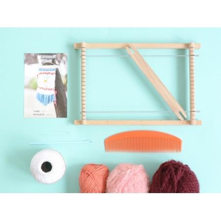 Kit tissage - couleurs chaudes  - 2