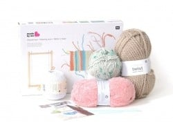 Kit tissage - couleurs pastels  - 1
