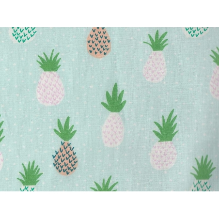 Tissu imprimé - ananas