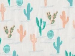Tissu imprimé - cactus