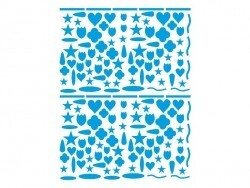 15 sheets of decorative stickers - different colours