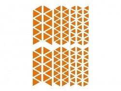 """20 planches de gommettes géométrique """"Baby"""" - vif & pastel"""