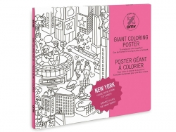Giant colouring paper poster - New York