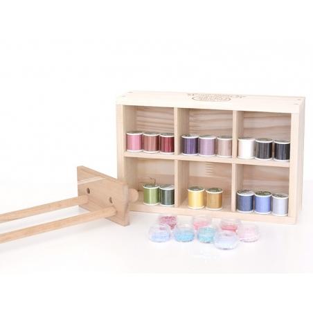 Acheter Bobine de fil pour tissage de perles -50m - gris - 3,90€ en ligne sur La Petite Epicerie - Loisirs créatifs