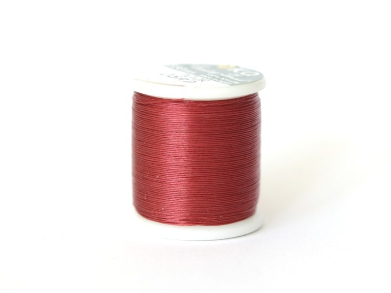 Nylon thread bobbin (50 m) - red