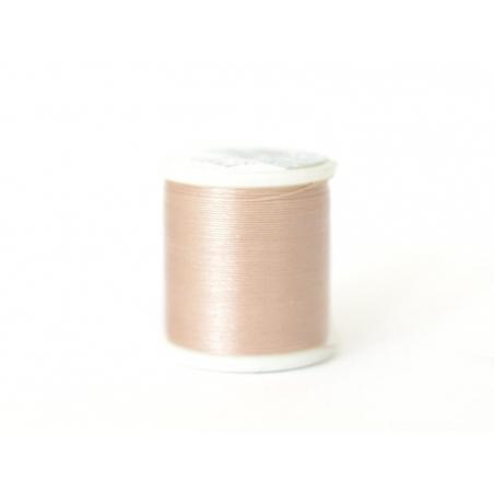 Bobine de fil pour tissage de perles -50m - beige KO - 1