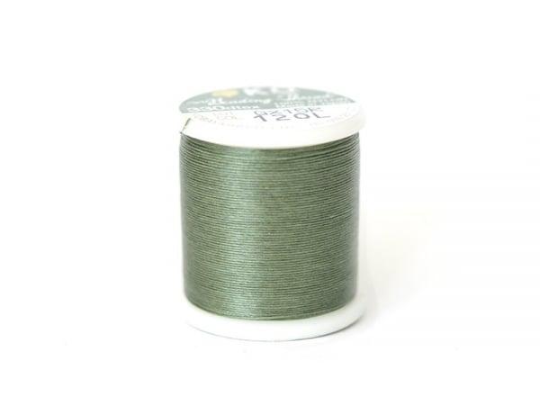 Bobine de fil pour tissage de perles -50m - vert olive KO - 1