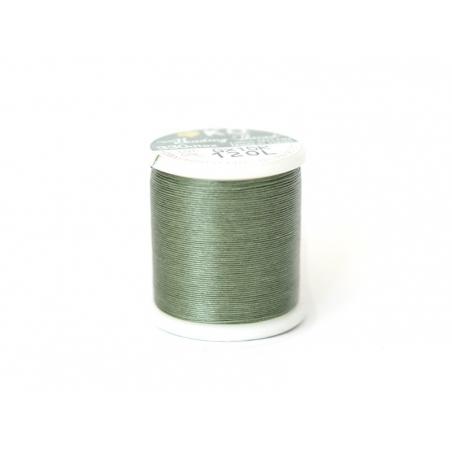 Nylon thread bobbin (50 m) - olive green