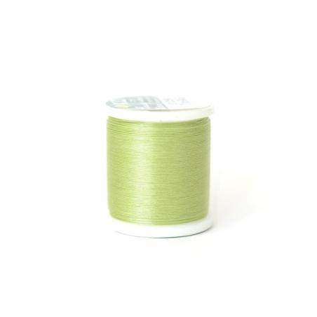 Bobine de fil pour tissage de perles -50m - vert pomme KO - 1