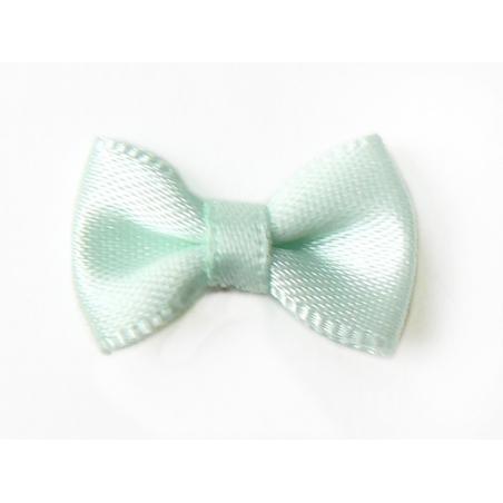Sea-green bow - 3 cm
