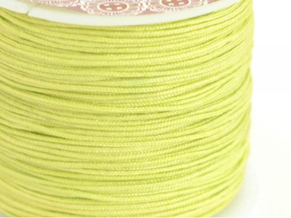 Acheter 1 m de fil de jade / fil nylon tressé 1 mm - vert citron - 0,49€ en ligne sur La Petite Epicerie - 100% Loisirs créa...