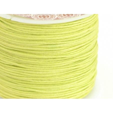 Acheter 1 m de fil de jade / fil nylon tressé 1 mm - vert citron - 0,49€ en ligne sur La Petite Epicerie - Loisirs créatifs