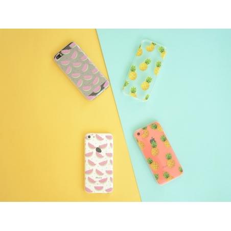iPhone 5C mobile phone case - halved watermelon