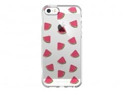 iPhone 5/5s mobile phone case - quartered watermelon
