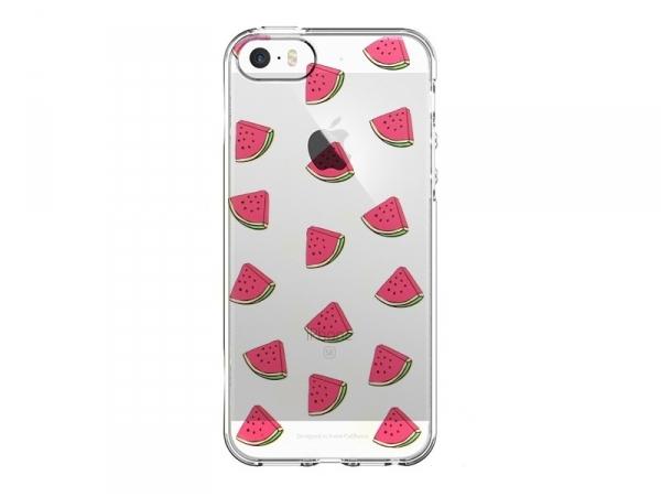 Coque Iphone 5/5S - quart pastèque