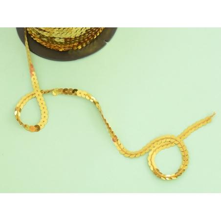 Acheter 1m de ruban sequin 6 x 6 mm - doré - 1,59€ en ligne sur La Petite Epicerie - Loisirs créatifs