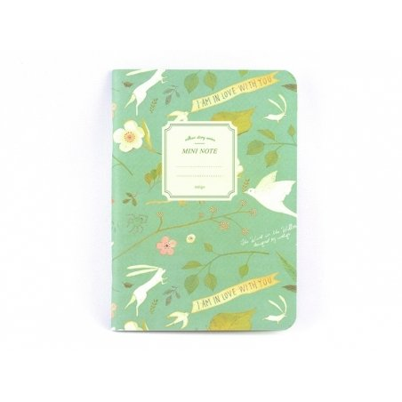 Small notebook - nature/green