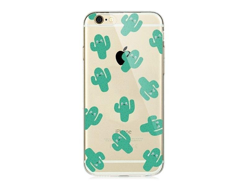 Coque Iphone 6 / 6S - Cactus kawaii  - 1
