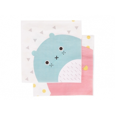 20 paper napkins - Noodoll
