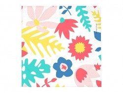 20 serviettes en papier - tropical flowers My little day - 1