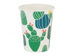 8 gobelets en papier - cactus My little day - 1