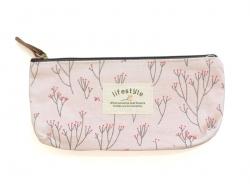 Acheter Trousse fleurie - rose - 9,80€ en ligne sur La Petite Epicerie - 100% Loisirs créatifs
