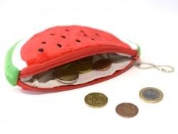 Small watermelon purse