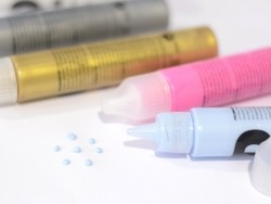 Perlenmaker-Pen - neonpink