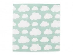 20 paper napkins - clouds