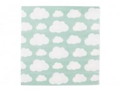 20 Papierservietten - Wolken