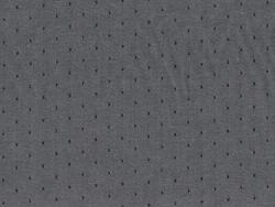 Tissu chambray à pois - Brouillard