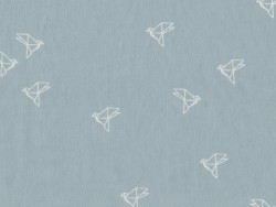 """Tissu """"`Bye Bye Birdie"""" - Jean Atelier Brunette - 1"""