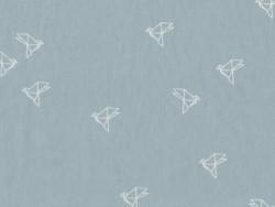 "Tissu ""`Bye Bye Birdie"" - Jean"