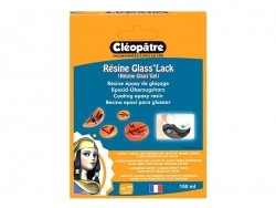 """Glass'Lack"" coating resin - transparent Cléopâtre - 1"