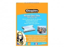 """Glass'flex"" coating resin - transparent Cléopâtre - 1"