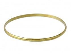 Bracelet jonc très fin en laiton - taille enfant